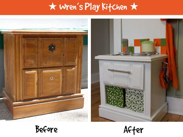 Diy be squirrely wrens play kitchen solutioingenieria Gallery